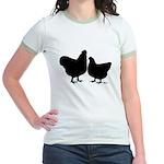 Orpington Silhouette Jr. Ringer T-Shirt