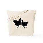 Orpington Silhouette Tote Bag