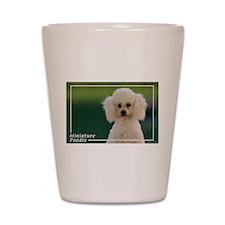 Miniature Poodle-9 Shot Glass