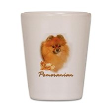pomeranian-1 Shot Glass