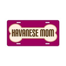 Havanese Mom Pet Gift License Plate