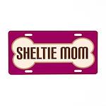 Sheltie Mom Pet Gift License Plate
