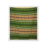 Indian Design-04aa Throw Blanket