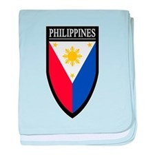 Philippines Patch baby blanket