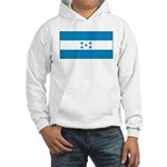 Honduras Honduran Blank Flag Hooded Sweatshirt