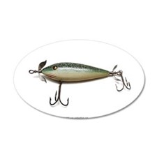 Vintage Lure 08 22x14 Oval Wall Peel