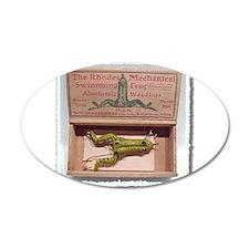 Rhode's Frog 22x14 Oval Wall Peel