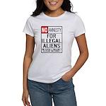 NO AMNESTY FOR ILLEGALS Women's T-Shirt