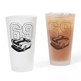 '69 Camaro Drinking Glass