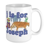 J is for Joseph Large Mug