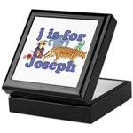 J is for Joseph Keepsake Box