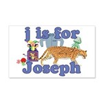 J is for Joseph 22x14 Wall Peel