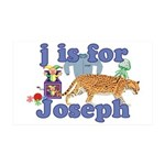 J is for Joseph 38.5 x 24.5 Wall Peel