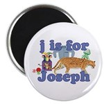 J is for Joseph Magnet