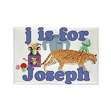 J is for Joseph Rectangle Magnet (100 pack)