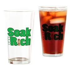 Soak The Rich... Drinking Glass