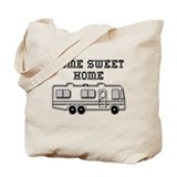 Home Sweet Home Motorhome Tote Bag