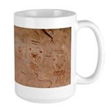 Four Faces Pictograph Mug