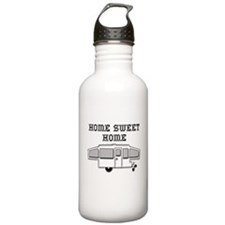 Home Sweet Home Pop Up Water Bottle