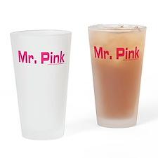 Reservoir Dogs Mr. PInk Drinking Glass