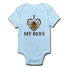 I Love My Bees Infant Bodysuit