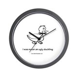 Handsome Duckling Wall Clock