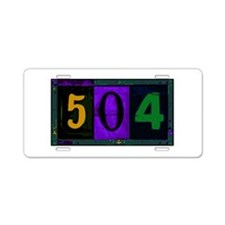 NOLA 504 Aluminum License Plate