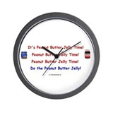 Peanut Butter Jelly Wall Clock