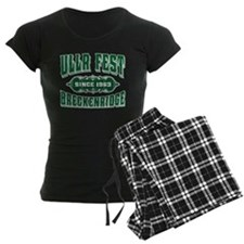 UllrFest Since 1963 Green Pajamas