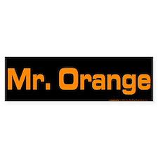 Reservoir Dogs Mr. Orange Bumper Sticker