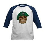 Green Beret Skull Tee