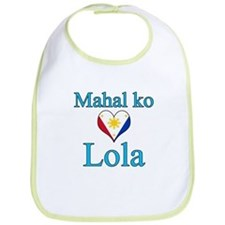 I Love Grandma (Filipino) Bib