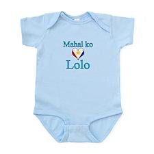 I Love Grandpa (Filipino) Infant Bodysuit