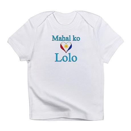 I Love Grandpa (Filipino) Infant T-Shirt