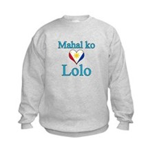 I Love Grandpa (Filipino) Sweatshirt