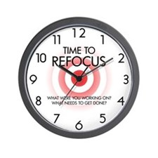 Time to Refocus Wall Clock