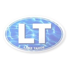LAKE TAHOE Water - LT Oval Decal