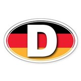 Germany D Stickers