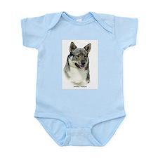 Swedish Vallhund 9K1D-14 Infant Bodysuit
