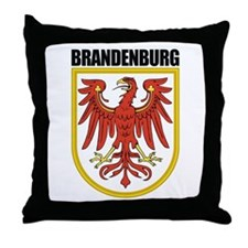 Brandenburg COA Throw Pillow