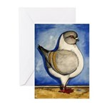 Modena Silver Gazzi Greeting Cards (Pk of 10)
