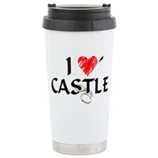 Castle Style 1 Stainless Steel Travel Mug