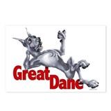 Great Dane Blue LB Postcards (Package of 8)