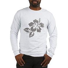 Hawaiian Flower Long Sleeve T-Shirt