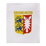 Schleswig-Holstein COA Throw Blanket