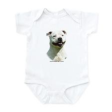 Staffordshire Bull Terrier 9F47D-03 Infant Bodysui