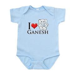 I Heart Ganesh Infant Bodysuit