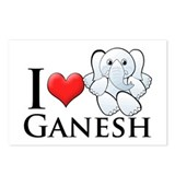 I Heart Ganesh Postcards (Package of 8)