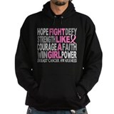 Fight Breast Cancer Hoodie