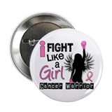 "Fight Like a Girl Breast Cancer 2.25"" Button"